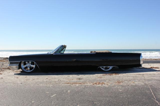 Cadillac Deville Convertible 1965 Black For Sale 1965 Cadillac