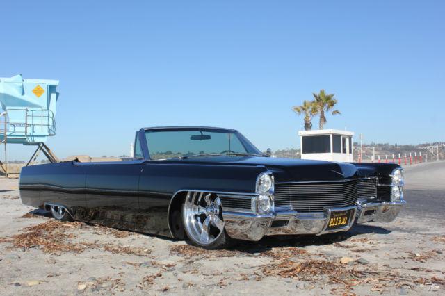 1965 Cadillac Deville For Sale: Cadillac DeVille Convertible 1965 Black For Sale