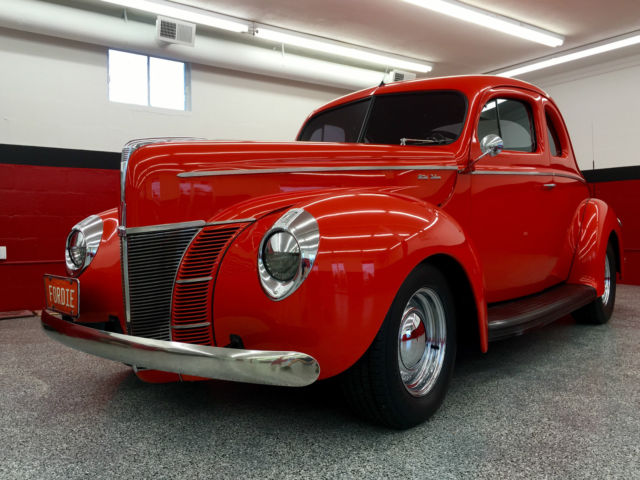 Ford Other ALL STEEL ORIGINAL BODY 1940 ORANGE -