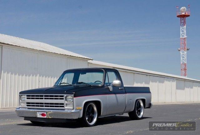 Chevrolet C K Pickup 1500 Pickup Truck 1985 Black For Sale