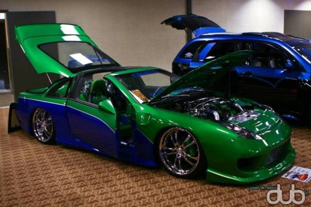Nissan 300zx Coupe 1990 Green For Sale Jn1rz26a2lx001111