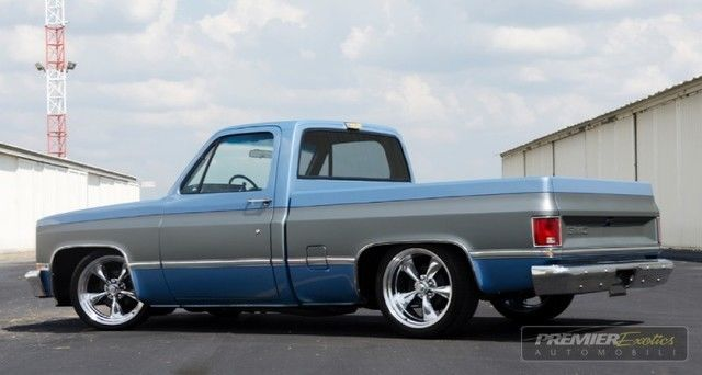 GMC Sierra 1500 Pickup Truck 1986 Blue For Sale ...