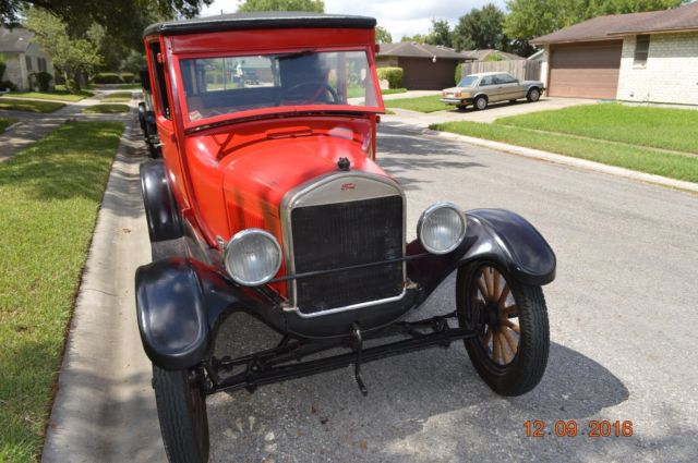 ford model t coupe 1926 red black for sale motor 14364592 1926 rh findclassicars com 1926 ford model t service manual 1926 Ford Roadster