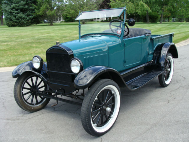 ford model t roadster pickup 1926 ford commercial green for sale 14325173 1926 ford model t. Black Bedroom Furniture Sets. Home Design Ideas