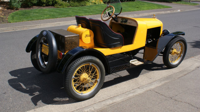 ford model t roadster 1926 yellow for sale 13119337 1926. Black Bedroom Furniture Sets. Home Design Ideas