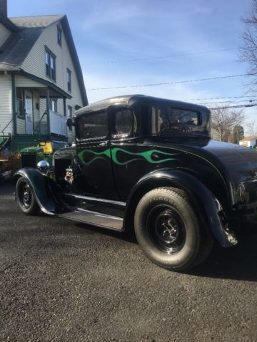 Ford Chevy Powered Chopped Street Rod Hot Rod Rat Rod on 1936 Ford Vin Number Location