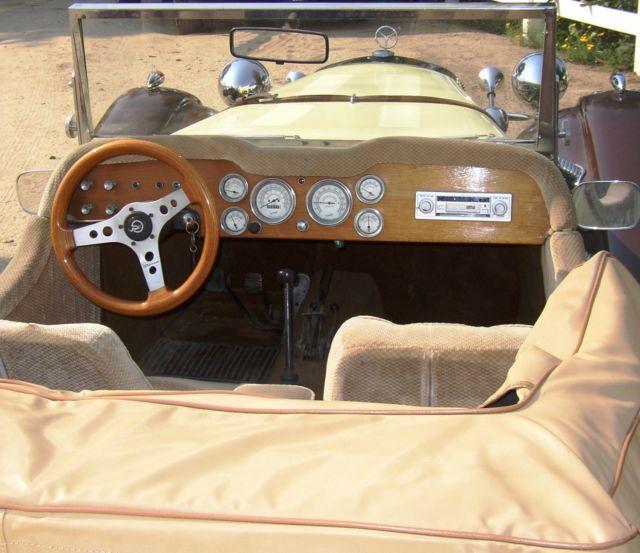 Mercedes-Benz SSK Replica 2 Door Roadster 1928 Cream
