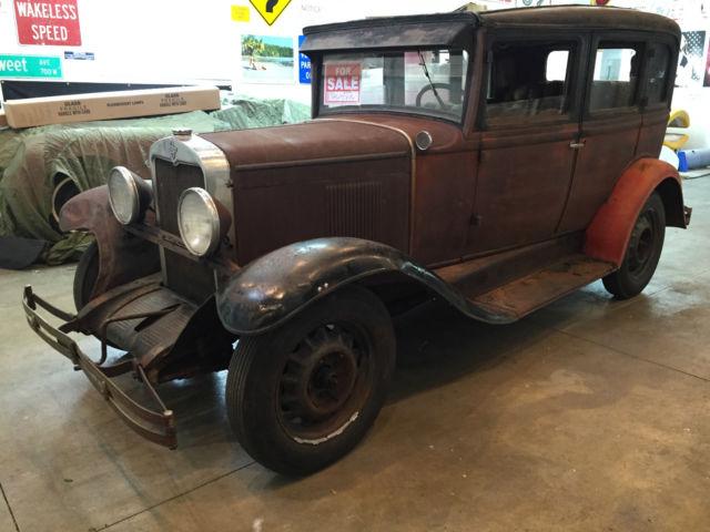 chevrolet other 4 door sedan 1930 rust for sale