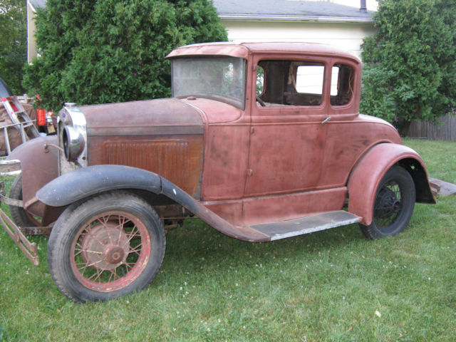 Ford Model A Coupe 1930 Primer For Sale None 1930 Ford