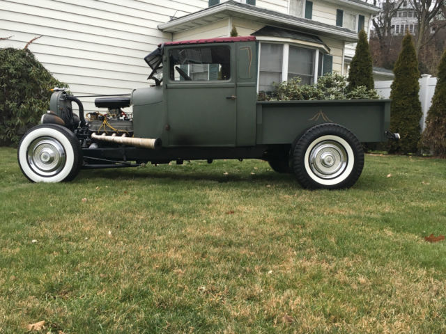 Ford Model A Standard Cab Pickup 1930 green flat For Sale. a118491 1930 Ford model a aa pick up ...