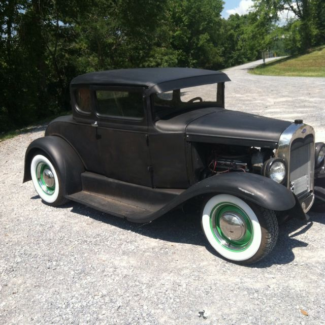 ford model a coupe 1930 black for sale o u 812 1930 ford model a coupe hot rod rat rod project. Black Bedroom Furniture Sets. Home Design Ideas