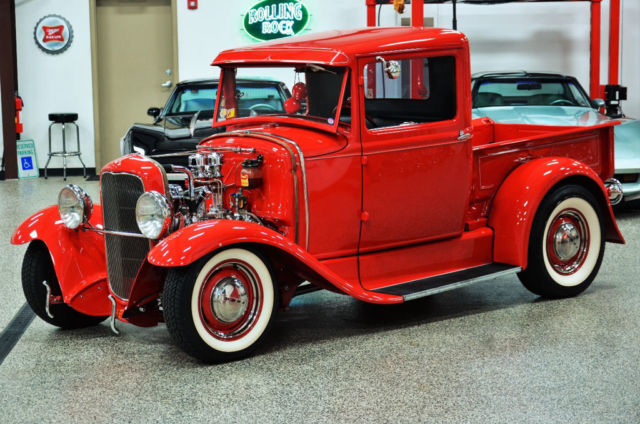ford model a pickup truck 1930 red for sale a3633749 1930 ford model a pick up all steel 50 39 s. Black Bedroom Furniture Sets. Home Design Ideas