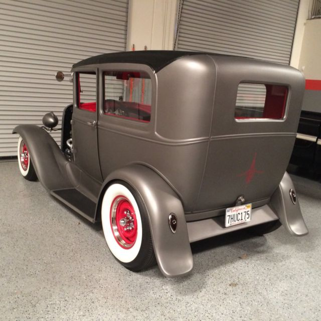 Ford Model A Sedan 1930 Silver For Sale 1930 Ford Model A