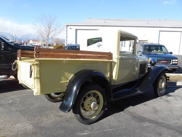 Ford Model A Truck Budd Cab Steel Roof Original Restored Nice