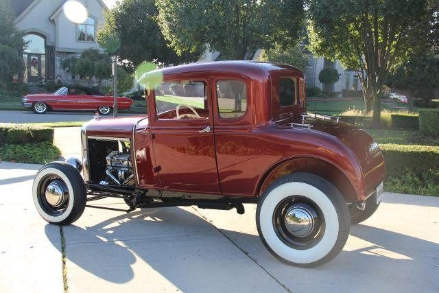 Ford Model A Coupe 1931 Red For Sale A4476093 1931 Hotrod