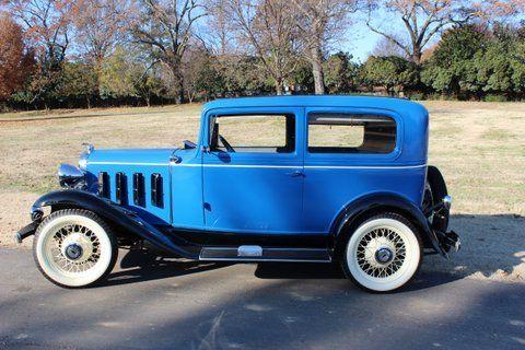 Chevrolet Series BA Confederate Coupe 1932 Blue/Black For Sale