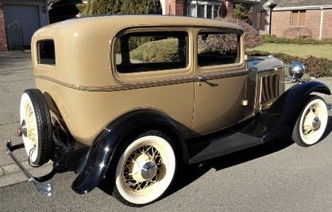 Ford model b 2 door sedan 1932 tan for sale ab5024161 for 1932 ford 4 door for sale