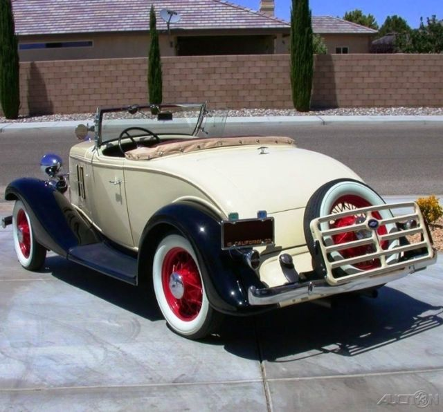 Chevrolet Master Eagle Roadster Convertible 1933 Tan For