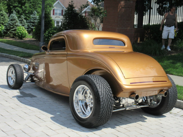 ford other coupe 1933 sunset copper for sale 081540190050 1933 ford 3 window coupe street rod. Black Bedroom Furniture Sets. Home Design Ideas