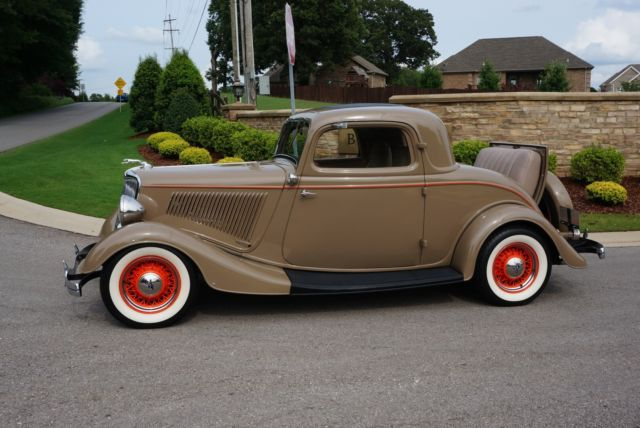 Ford Other Coupe 1934 Tan For Sale 181138375 1934 Ford 3