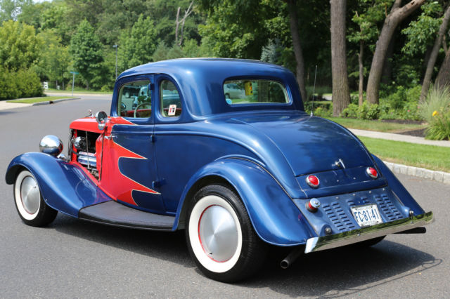 Ford other coupe 1934 blue for sale 115132151 1934 ford 5 for 1934 ford coupe 5 window for sale