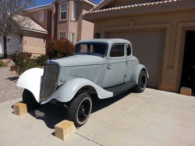 1934 Ford 5 Window Coupe Original Steel Body For Sale Other