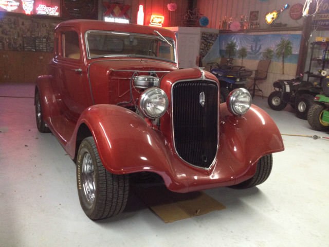 Plymouth Other Coupe 1934 Red For Sale  PF39336 1934