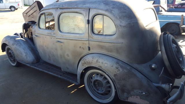 chevrolet other 4 door sedan 1935 patina brown for sale