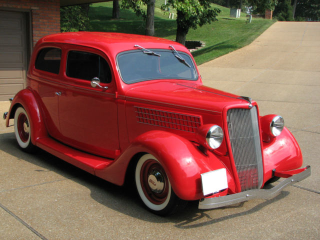 Ford other 2 door sedan 1935 chevrolet torch red for sale for 1935 ford 2 door sedan for sale