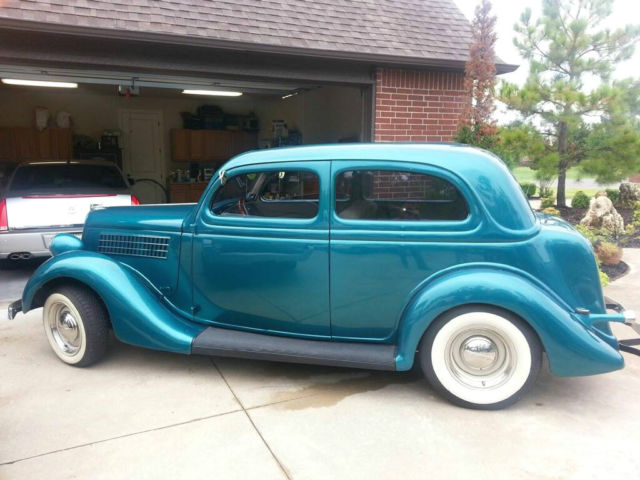 Ford coupe sedan coupe 1935 teal for sale ok0736624640 for 1935 ford 2 door sedan for sale