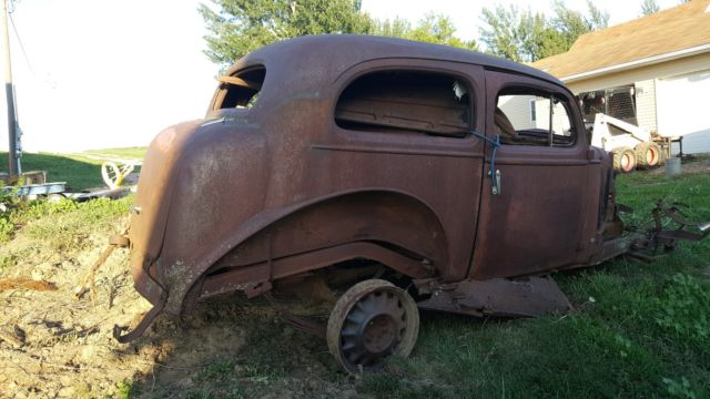 36 Chevy Sedan Rat Rod ✓ All About Chevrolet