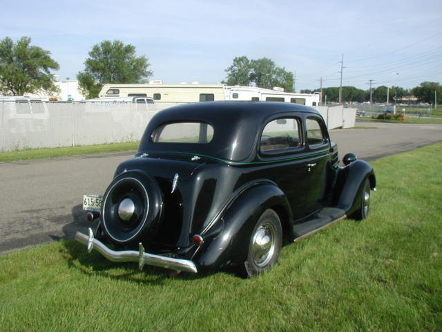 Ford 68 four door sedan sedan 1936 black for sale for 1936 ford 2 door sedan