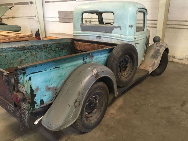 Ford Pickup Truck Original Miles On Flathead V on Ford Flathead V8 Crate Engine For Sale