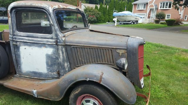 ford other pickups standard cab pickup 1936 black for sale 9t838389 1936 ford ratrod pickup all. Black Bedroom Furniture Sets. Home Design Ideas