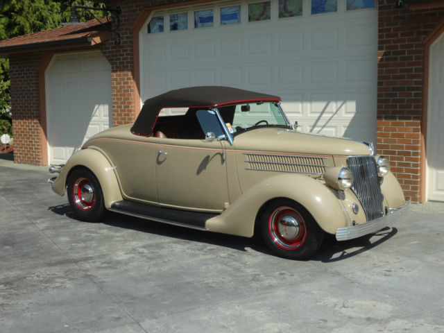 Ford Other Roadster 1936 Tan For Sale 181647961 1936 Ford