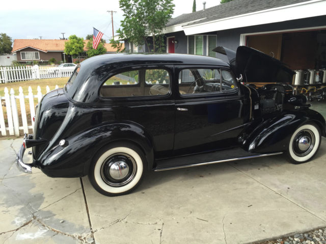 Chevrolet master deluxe sedan 1937 black for sale for 1937 chevy 2 door sedan