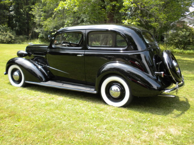 Chevrolet other sedan 1937 black for sale xfgiven vin for 1937 chevy 2 door sedan