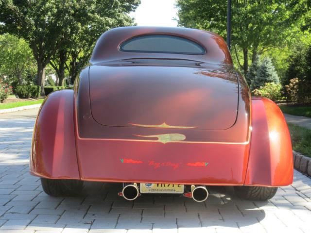 Ford 3 Window Coupe 2 Door Coupe 1937 Root Beer Bronze