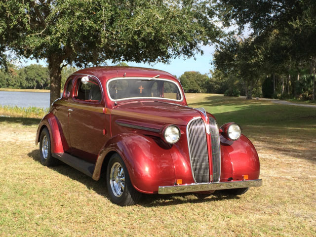 1937 Dodge Coupe Street Rod Project Car For Sale: Plymouth 5-Window Coupe Street Rod 5-Window Coupe 1937