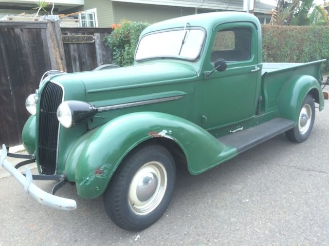 Plymouth Pt Pickup Pick Up Truck Dodge Rat Shop Vintage Ton on Dodge Dakota Rebuilt Transmission