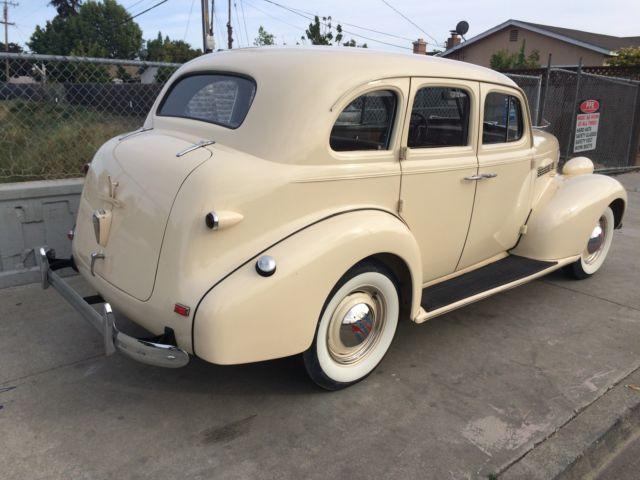 Chevrolet other sedan 1939 tan for sale 1939999 1939 for 1939 chevy 4 door sedan