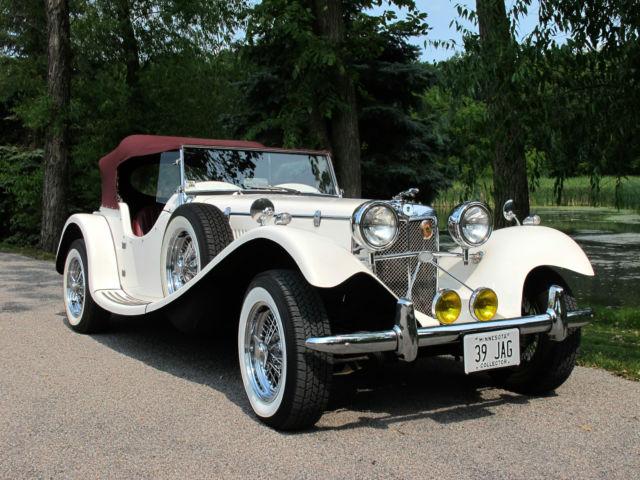Jaguar Other Convertible 1939 White For Sale 1939 Jaguar