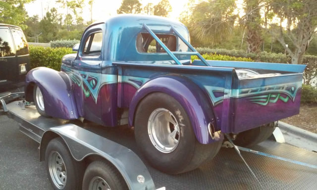 Chevy Fort Myers >> Willys 1941 For Sale. 1940 / 1941 WILLYS PRO STREET DRAG RACE PROJECT TURNKEY HOT ROD