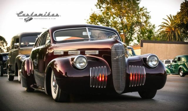"""Classic Cadillacs For Sale >> Cadillac Other 1940 HOK Candy Brandywine For Sale. 1940 Cadillac LaSalle Kustom """"LowSalle"""""""