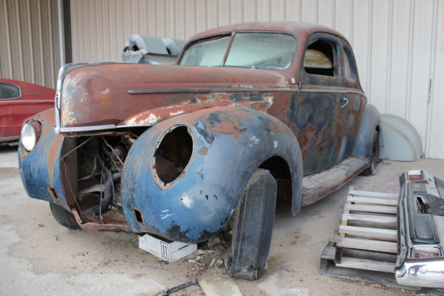 Ford Coupe All Steel Ford Coupe 1940 Xfgiven Color