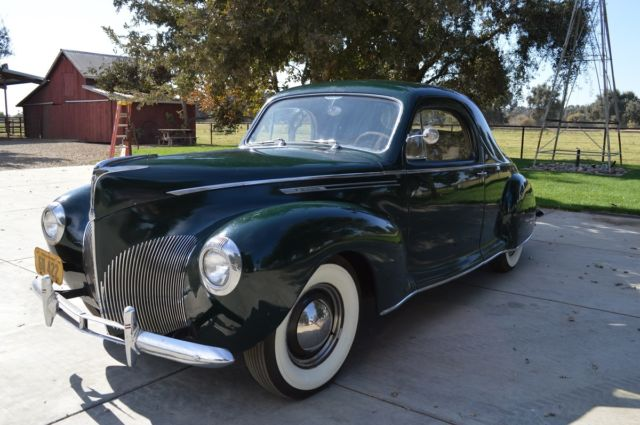 Lincoln Other Coupe 1940 Beetle Green For Sale 1940 Lincoln Zephyr