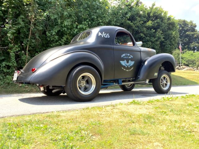 Tci Torque Converter >> Willys Coupe 1941 Black For Sale. 1941 41 Willys Coupe Gasser Blown Hemi Americar Hot Rod Rat ...