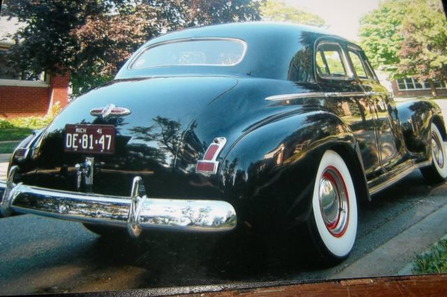 Buick special 4 door sedan 1941 black for sale xfgiven for 1941 buick 4 door sedan