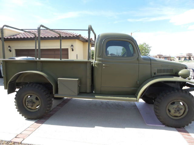 dodge power wagon 19410000 for sale 8667754 1941 dodge us army weapons carrier pickup truck 4x4. Black Bedroom Furniture Sets. Home Design Ideas