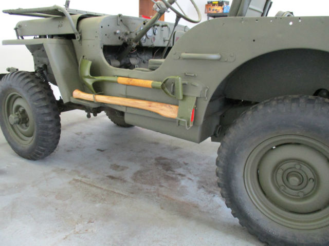 Willys 1943 For Sale  GPW104088 1943 Ford GPW Jeep Flat Fender